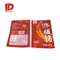 Mylar Three Side Sealed Flat Pouch Bags for Snack Food Packaging