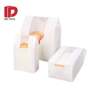 Custom Printed Food Packaging Bread Paper Bag